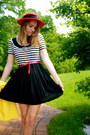 Striped-handmade-dress