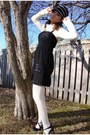 Off-white-smart-set-sweater-black-dynamite-beaded-top-black-le-chateau-skirt