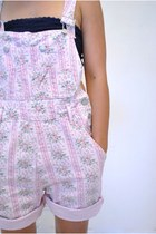 Light Pink Vintage Shorts