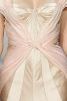 light pink satin dress