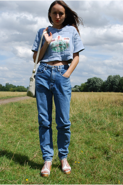 Vintage early 90&39s high waisted jeans by Vintaholic | Chictopia