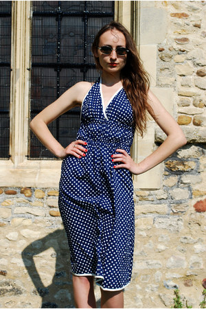 navy Vintaholic dress