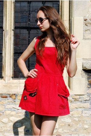 red Vintaholic dress