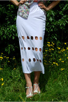 White Oogna East Skirts