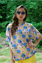 yellow Vintaholic blouse