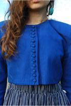 Blue Angela Holmes Jackets