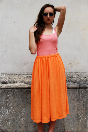 light orange Vintaholic skirt