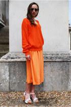 blue Vintaholic sunglasses - light orange Vintaholic skirt