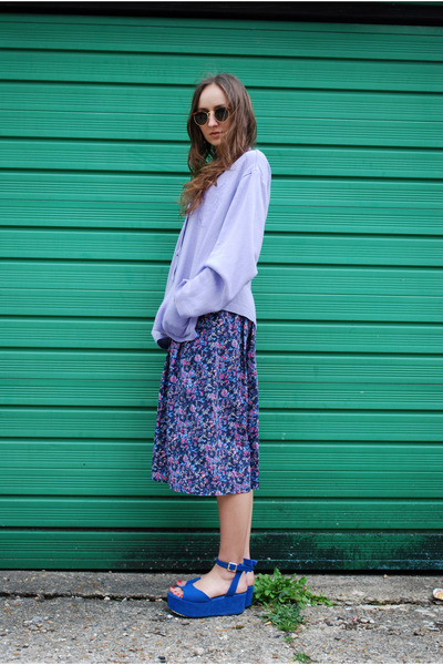 light purple Country Collection skirt