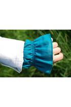 Turquoise Blue Vintage 70s Vintage Blouses