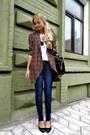 Navy-mango-jeans-black-michael-kors-bag-black-asoscom-heels