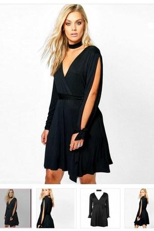 black dress Vipxchange dress