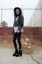 mixed midi galisfly ring - JollyChic boots - JollyChic jeans