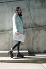 Black-punk-style-rosewholesale-boots-aquamarine-pastel-wool-choies-coat