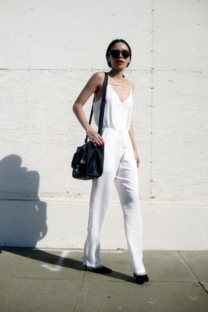 white Sheinside romper