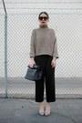Light-brown-oasap-sweater-black-forever-21-bag-light-brown-zerouv-sunglasses