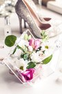 Light-pink-river-island-dress-ivory-h-m-coat-gold-carvela-heels