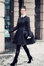 Black-asos-coat