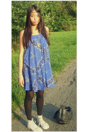 H&M dress - Converse shoes - H&M accessories - H&M purse