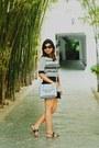 Black-zara-skirt