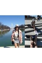 Shop Identify bracelet - Lovers  Friends sweater - White Suede skirt