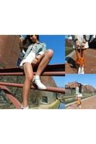 Whitney Eve jacket - Jeffrey Campbell shoes - Identify bracelet