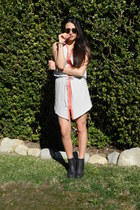 Jeffrey Campbell shoes - Sugarlips dress - Ray bans sunglasses