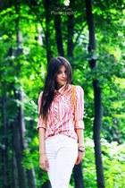 Esprit shirt - Local store purse - Ralph Lauren pants