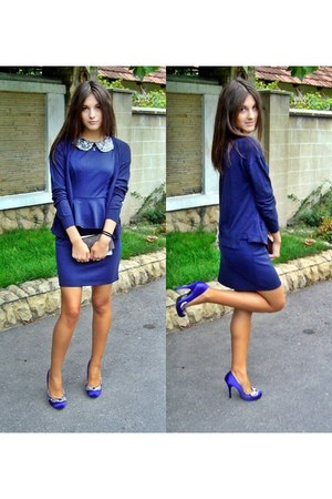 modcloth dress - Bershka cardigan - Love Label heels