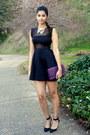 Tobi-dress-mimi-boutique-bag-forever-21-necklace-zara-heels