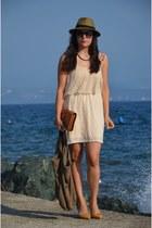 pull&bear dress - Mango bag - Zara heels