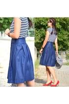 asos skirt - Zara heels - LC Waikiki top