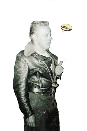 fur trim vintage jacket