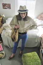 light brown Ugg shoes - neutral Eugeni Kim for Target hat