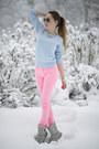 Bubble-gum-neon-pink-gina-tricot-pants