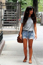 Levis shorts - Zara t-shirt