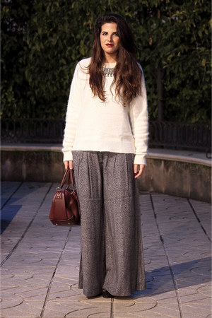Urban Outfitters bag - Mango pants - H&M jumper