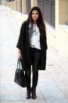 pull&bear jeans - Massimo Dutti boots - Zara bag - Zara cardigan