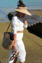 pull&bear hat - Massimo Dutti dress - Oysho bag - Massimo Dutti belt