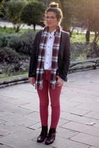 Massimo Dutti jacket - Massimo Dutti boots - H&M shirt - Zara pants