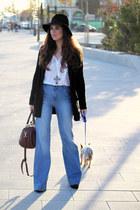 Massimo Dutti jeans - pull&bear shirt - Massimo Dutti cardigan