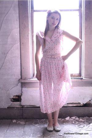 pink Vintage from WallflowerVintage dress