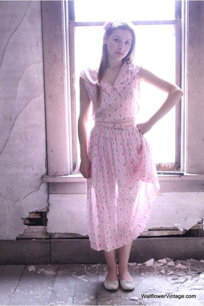 pink Vintage from WallflowerVintage dress