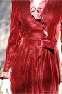 Maroon-wallflower-vintage-dress