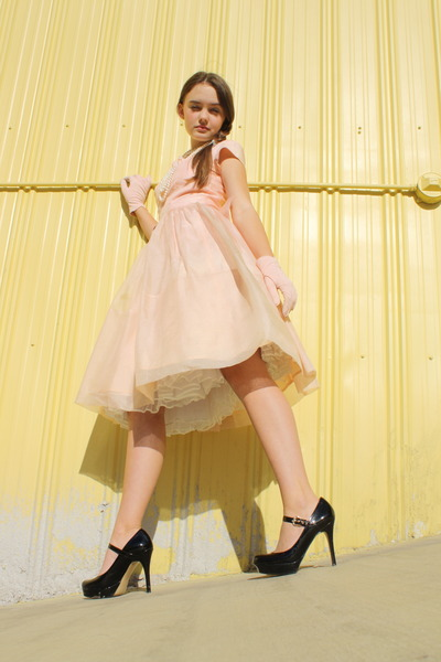 pink Wallflower Vintage dress