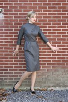charcoal gray 99 Wallflower Vintage dress