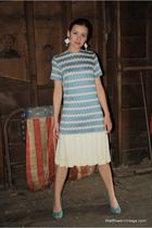 blue Wallflower Vintage dress