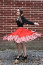 white 1950s crinoline Wallflower Vintage skirt