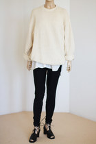slouchy knit Vintage from We Move Vintage sweater