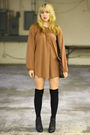 Brown-vintage-from-we-move-vintage-dress-black-american-apparel-socks-black-